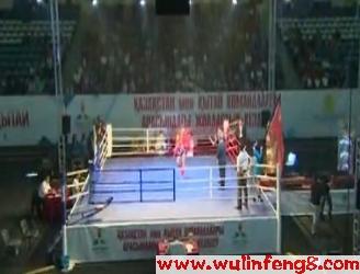 [视频]团彩环球拳王争霸赛中哈对抗赛[一]